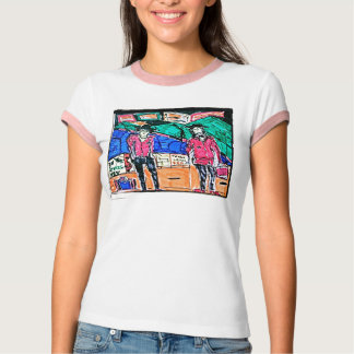 The Transaction Drawing T Shirt