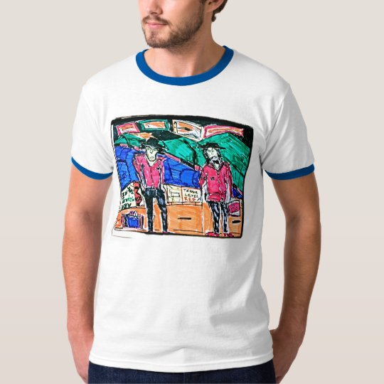 The Transaction Drawing T-Shirt