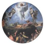 The Transfiguration Fine art Plate