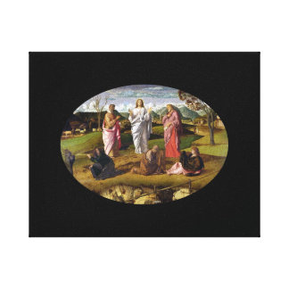 The Transfiguration of Christ Bellini Canvas Print