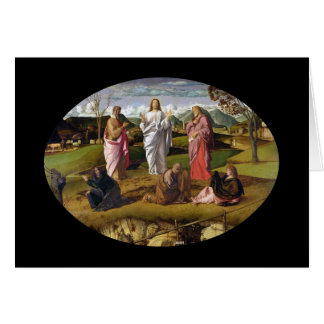 The Transfiguration of Christ Bellini Card