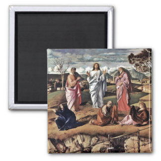 The Transfiguration of Christ Bellini Magnet