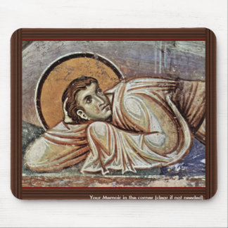 The Transfiguration Of Christ  By Meister Von Nere Mousepads