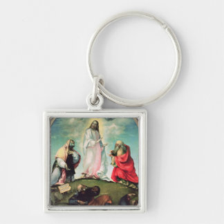 The Transfiguration of Christ, c.1510-12 (oil on p Keychain