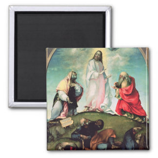The Transfiguration of Christ, c.1510-12 (oil on p Magnet