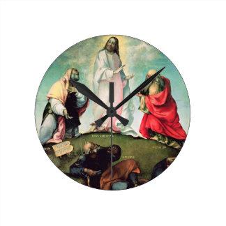 The Transfiguration of Christ, c.1510-12 (oil on p Round Clock