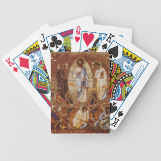 The Transfiguration of Christ on Mount Sinai Bicycle Playing Cards