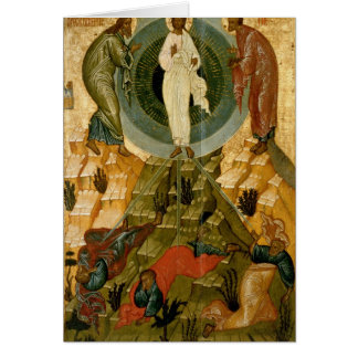 The Transfiguration of Our Lord Card