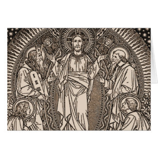 The Transfiguration of our Lord Jesus Christ Card
