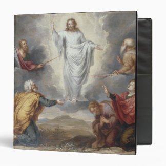The Transfiguration (oil on copper) 3 Ring Binder