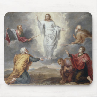 The Transfiguration (oil on copper) Mouse Pad