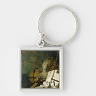 The Transience of All Earthly Things , c.1660 Keychain