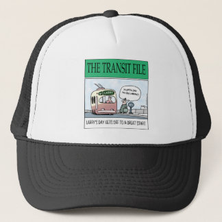 The Transit File Trucker Hat