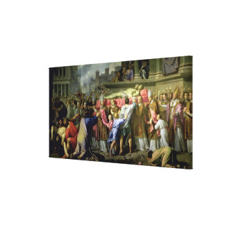 The Translation of the Bodies of SS. Gervase and P Canvas Print