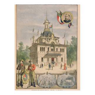The Transvaal pavilion at the Universal Postcard