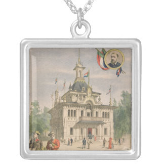 The Transvaal pavilion at the Universal Silver Plated Necklace