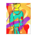 The Trapped Soul Stretched Canvas Print