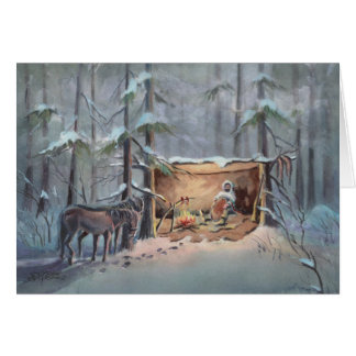 THE TRAPPER by SHARON SHARPE Card