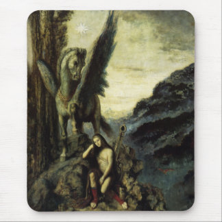 The Traveler Poet by Gustave Moreau Mousepads