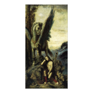 The Traveler Poet by Gustave Moreau Photo Card Template
