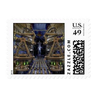 The Traveler Postage Stamp
