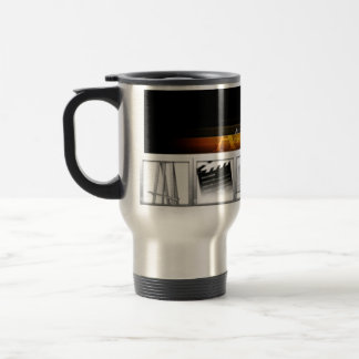 The Travelers Coffee Mug - Artist Untamed