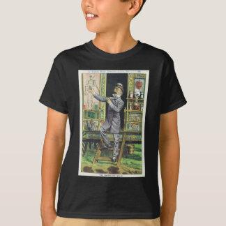 """The Traveling Quack"" Snake Oil Salesman T-Shirt"