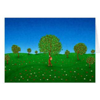 The Traveling Tree Greeting Cards