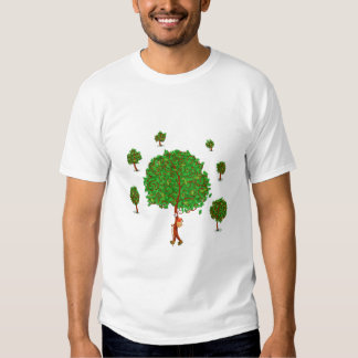 The Traveling Tree T-shirts