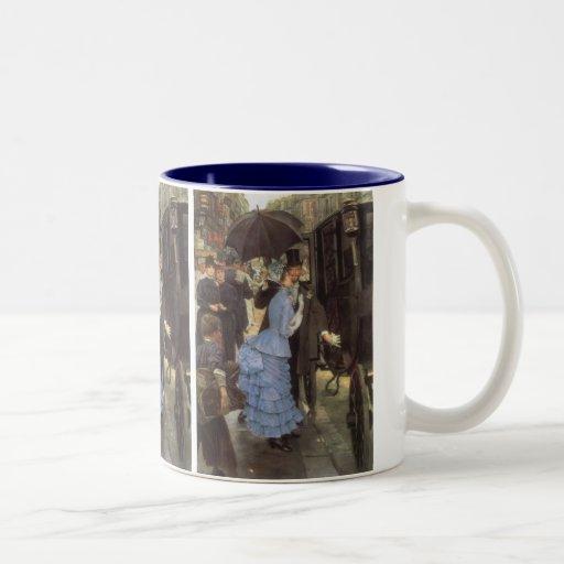 The Traveller (aka Bridesmaid) by James Tissot Coffee Mugs