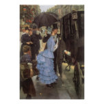 The Traveller (aka Bridesmaid) by James Tissot Poster
