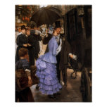 The Traveller by James Tissot Poster