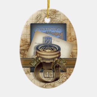 The Traveller Ceramic Ornament