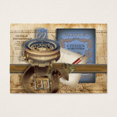 The Traveller Mini Postcard Business Card at Zazzle