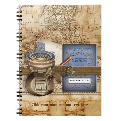 The Traveller Spiral Notebook