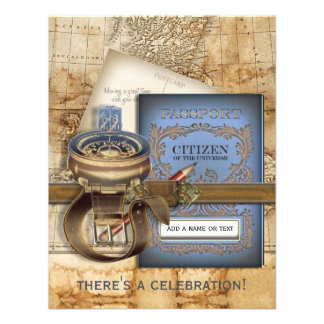 The Traveller Small Party Invitations