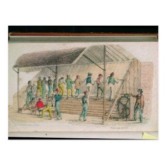 The Tread Mill Postcard