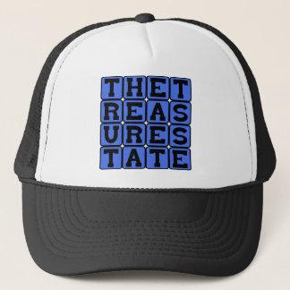 The Treasure State, Montana Nickname Trucker Hat