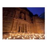 The treasure tonight, Petra Postal