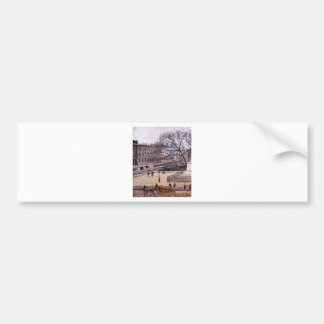 The Treasury and the Academy, Gray Weather Camille Bumper Sticker