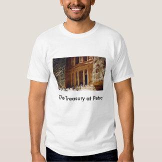 The Treasury at Petra, Jordan Tee Shirt