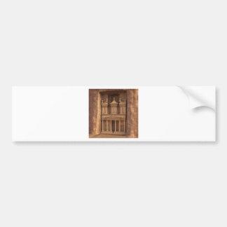 The Treasury of Petra, Jordan Bumper Sticker