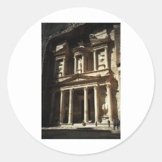 The Treasury, Petra Classic Round Sticker