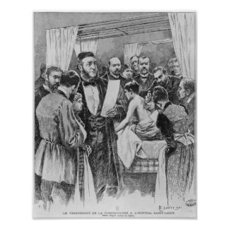 The treatment of tuberculosis poster
