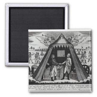 The Treaty of Campo Formio, 18th October 1797 2 Inch Square Magnet