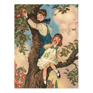 The Tree Climbers Postcard