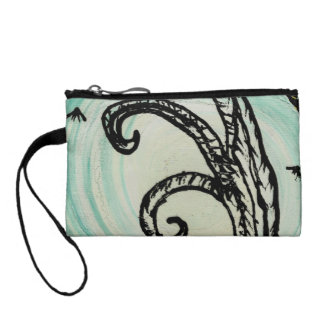 the tree green 2 painting by tia knight spooky hal change purses