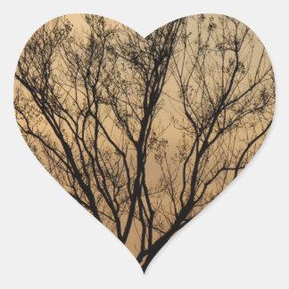 The Tree Heart Sticker