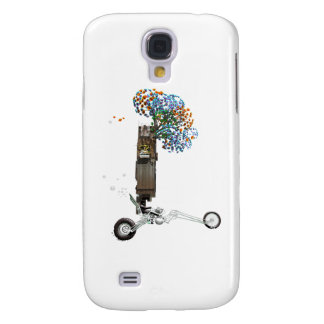 The Tree House Chopper Motorcycle Samsung Galaxy S4 Cover