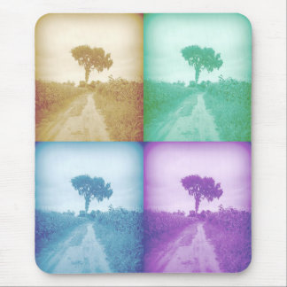 The Tree in Colors Mouse Pad